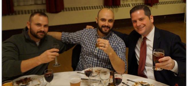 Hartford PNH Jazz Game Dinner Guests Enjoying the Night